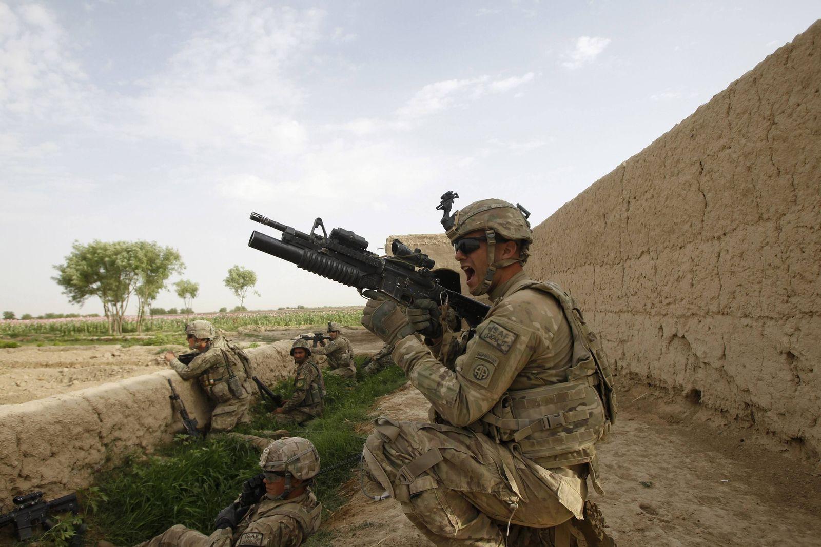 Afghanistan/ US-Soldaten