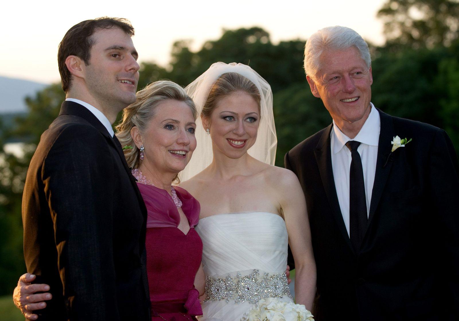 Heirat / Clinton / Mezvinsky
