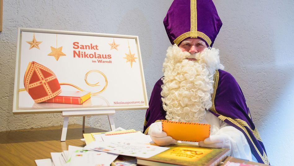 Nikolauspostamt in St. Nikolaus (Archivbild)