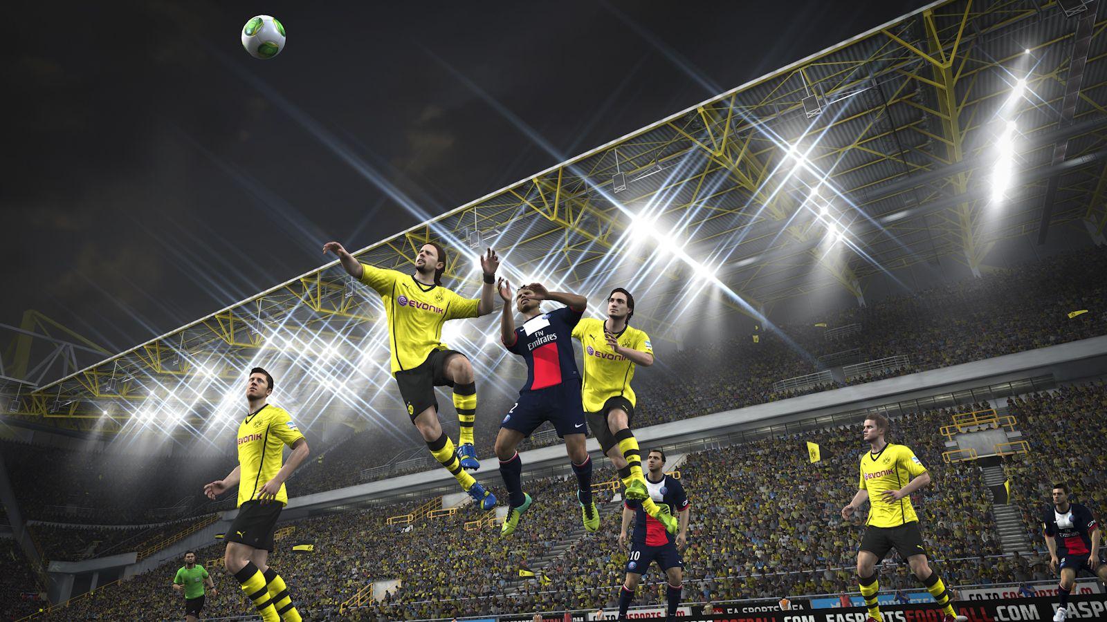 FIFA 14 / fifa14_ps4_dortmund_psg_inairplay
