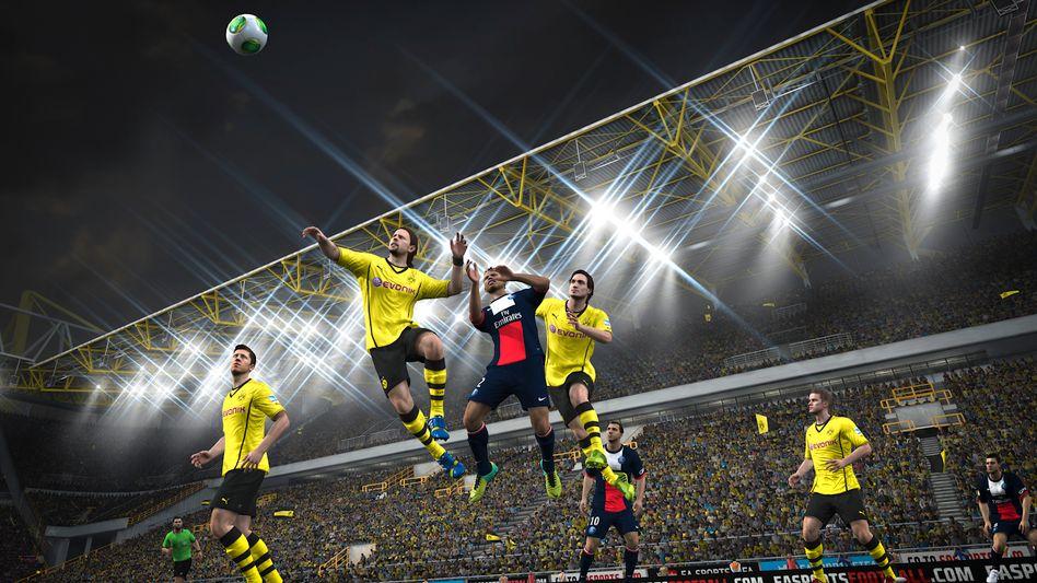"Screenshot aus ""Fifa 14"": Teil der neuen EA-Spieleflatrate"