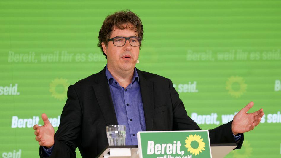 Der Bundesgeschäftsführer der Grünen, Michael Kellner: Die Älteren im Visier