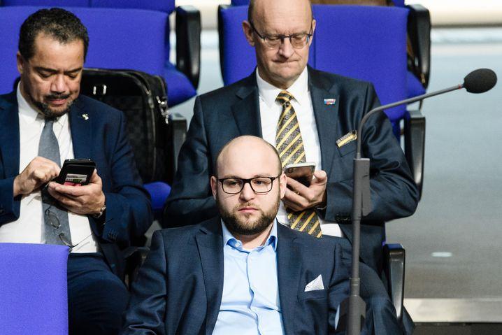 Markus Frohnmaier im Bundestag