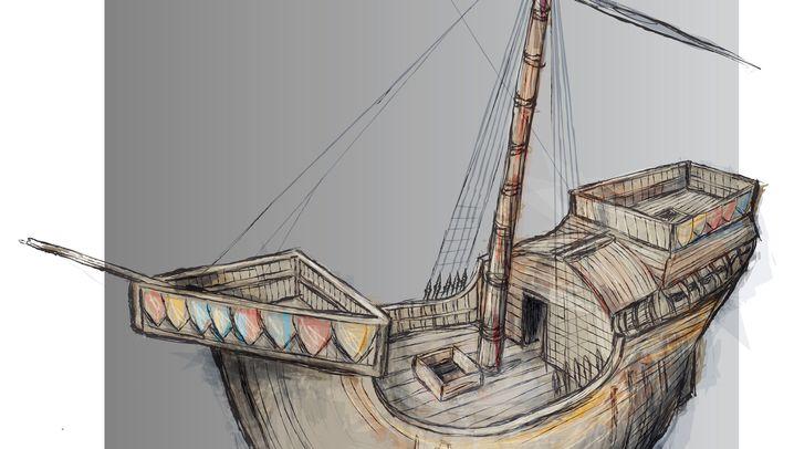 """""""Holigost"""": 600 Jahre altes Kriegsschiff (Fotos): Fahndung nach 600 Jahre altem Kriegsschiff"""