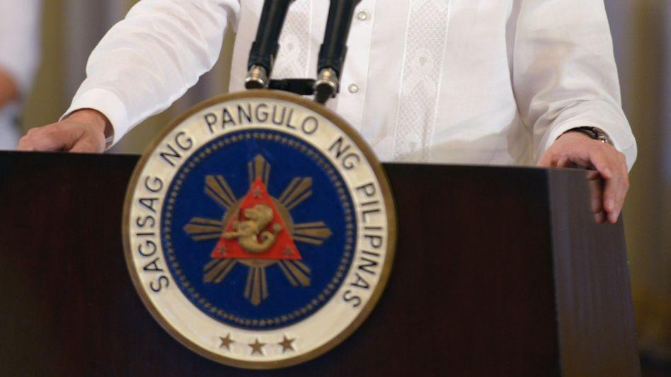 """Philippinischer Präsident Aquino: """"Sehr glücklich"""" über Friedensvertrag"""