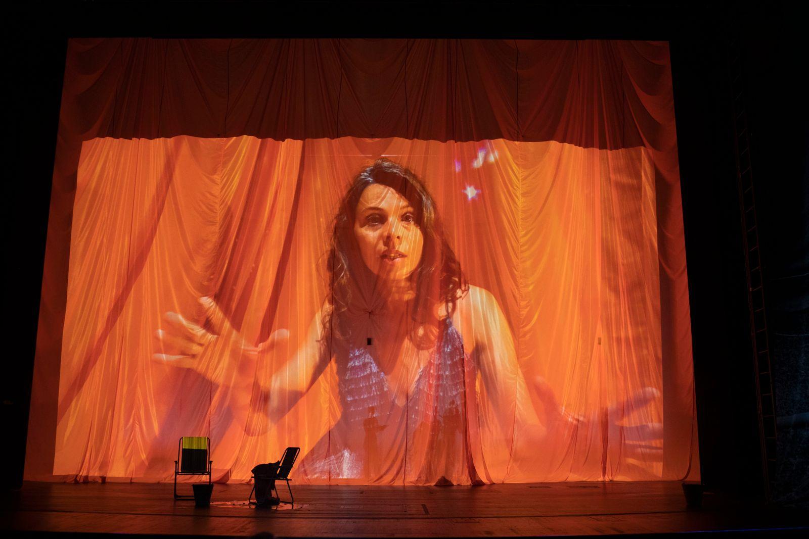 Theater/ Aufstieg und Fall eines Vorhangs und sein Leben dazwischen