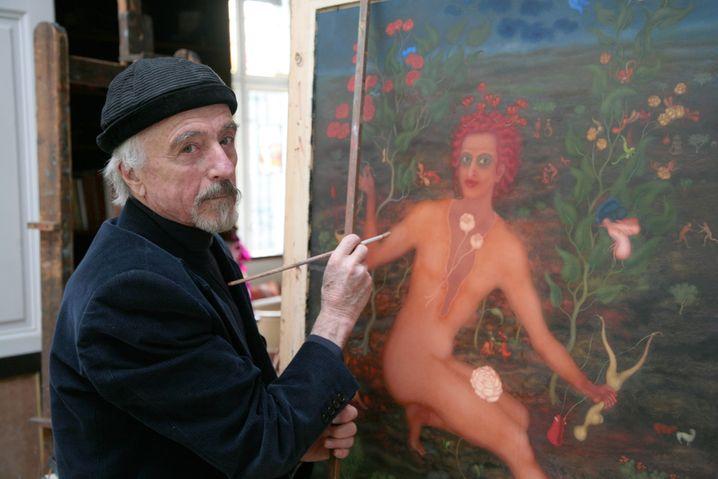 Arik Brauer in einer Aufnahme aus dem Jahr 2008
