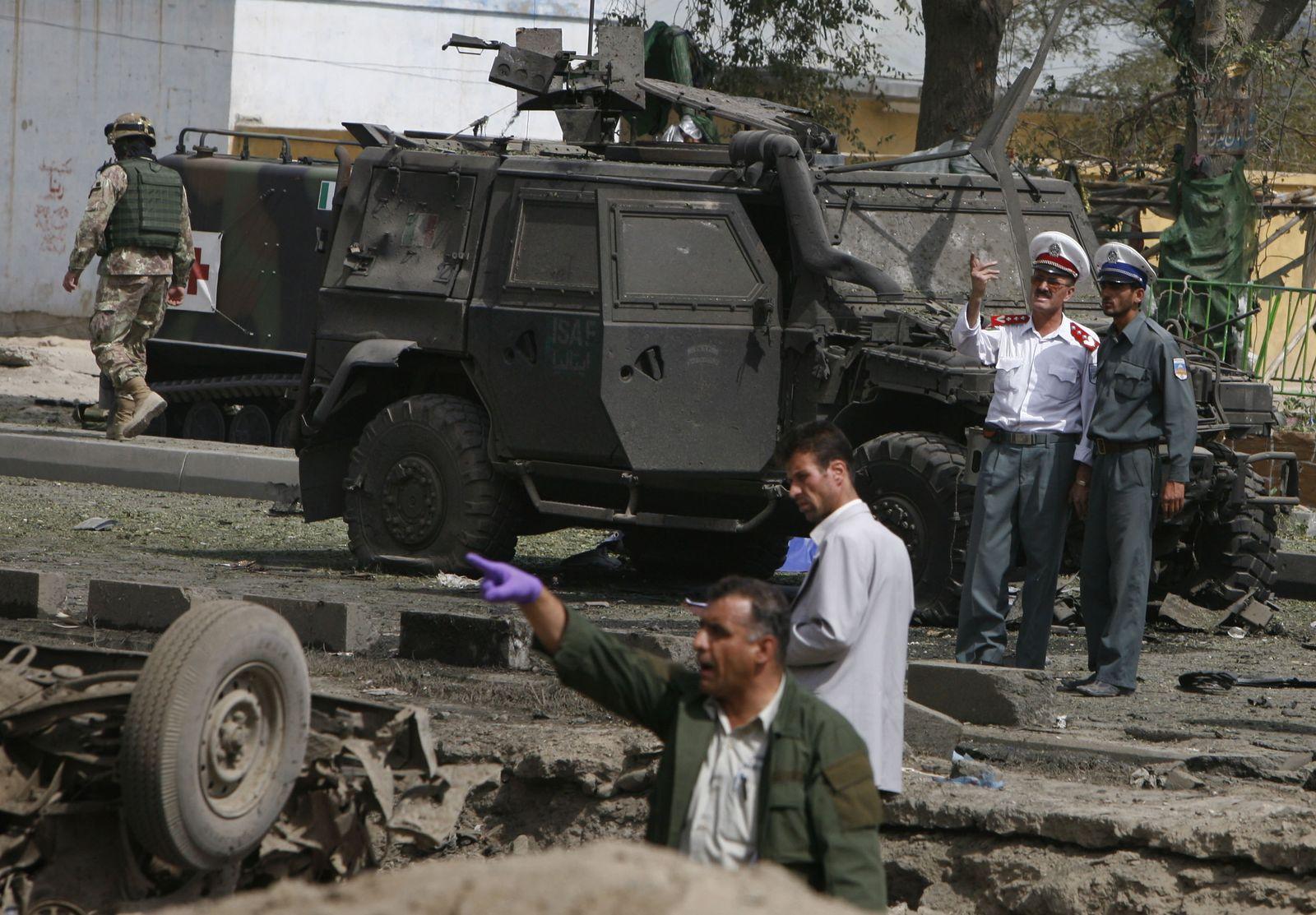 Afghanistan Anschlag auf Italiener