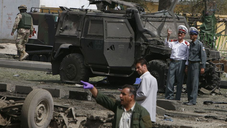 Selbstmordanschlag in Kabul: Mindestens 16 Tote