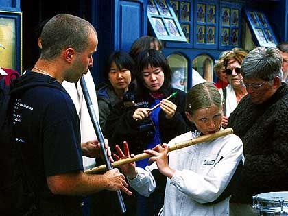 Musiker in Miltown Malbay: Der Ort in der Grafschaft Clare gilt als das internationale Zentrum für irische Folklore