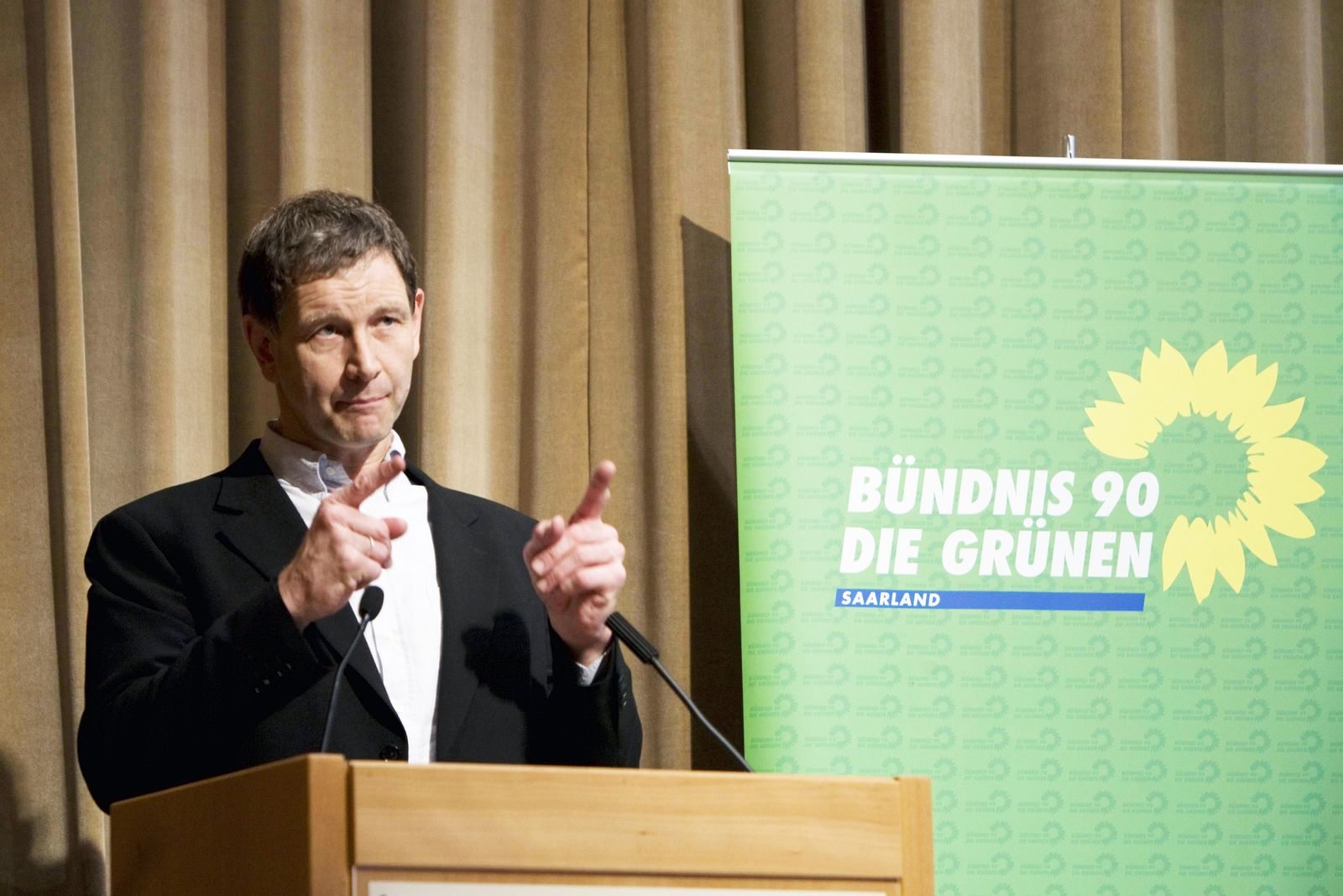 NICHT VERWENDEN Landesparteitag Gruene Saar / Ulrich