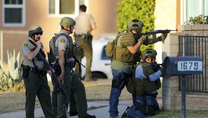 Bluttat in Kalifornien: 16 Tote, 21 Verletzte