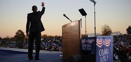Favorit Obama (in Virginia): Schafft er den historischen Linksruck?
