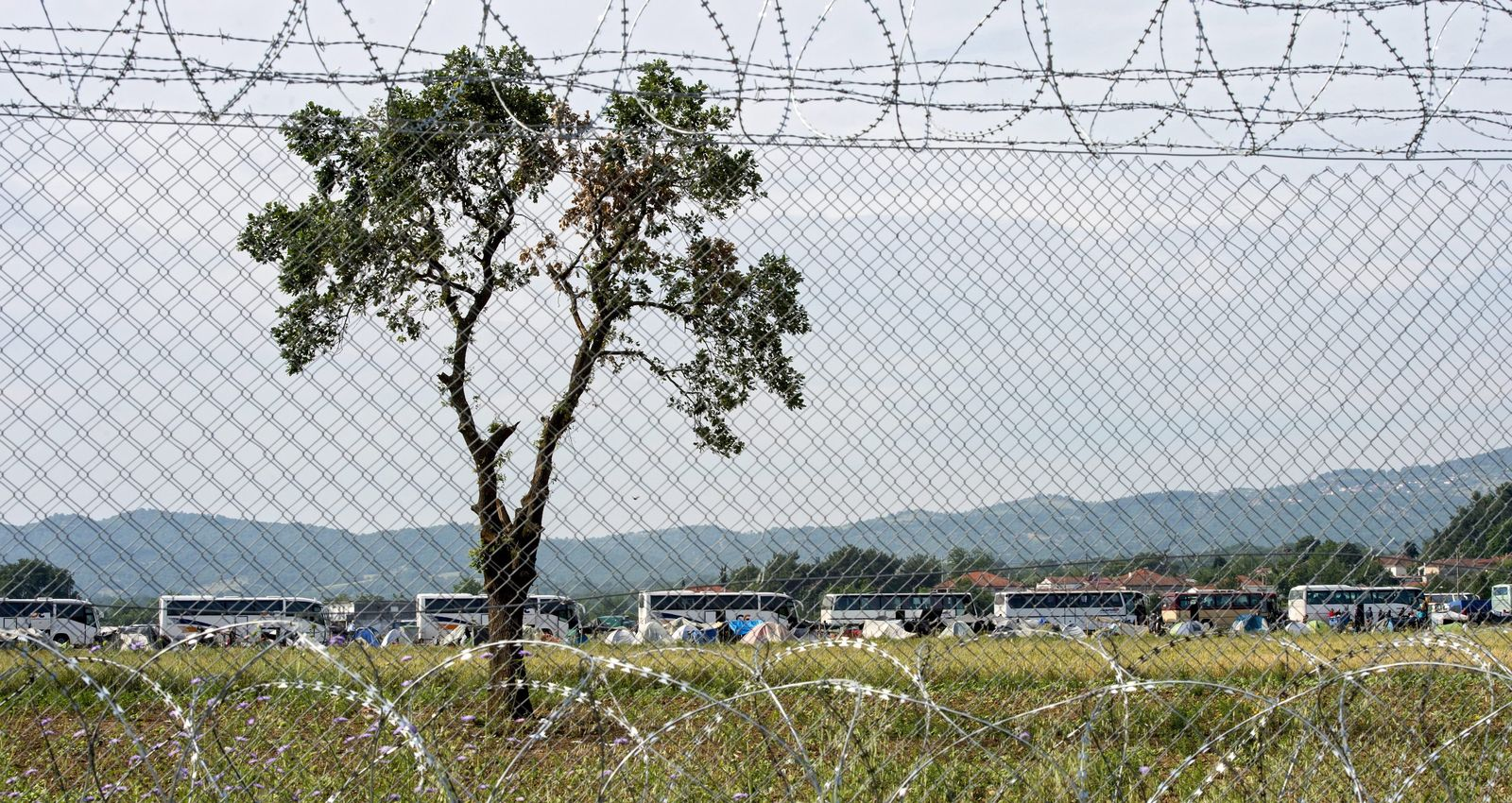 Griechenland / Idomeni / Flüchtlingslager