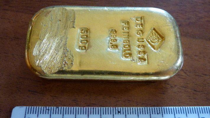 Goldbarren aus dem Königssee: Schätzwert 16.000 Euro