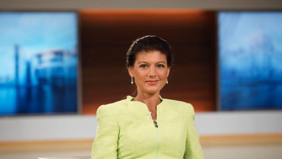 Sahra Wagenknecht im Mai 2020