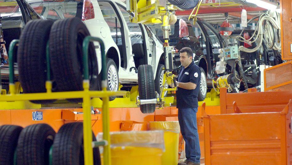 Fiat-Produktion: Arbeiten für die Wettbewerbsfähigkeit