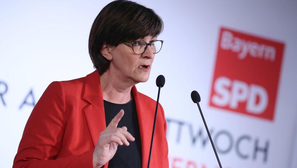 Saskia Esken: Trotzdem froh über die Einigung mit der Union