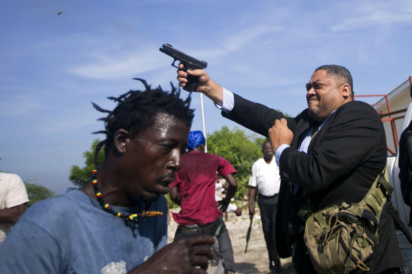 Haiti Parliament Ralph Fethiere