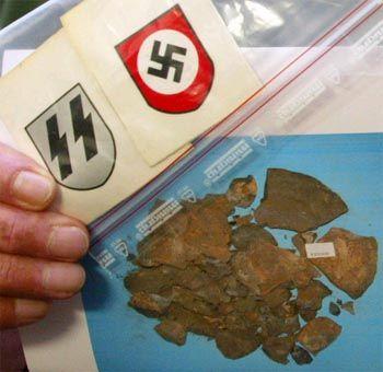 München: Konfiszierte Nazi-Insignien