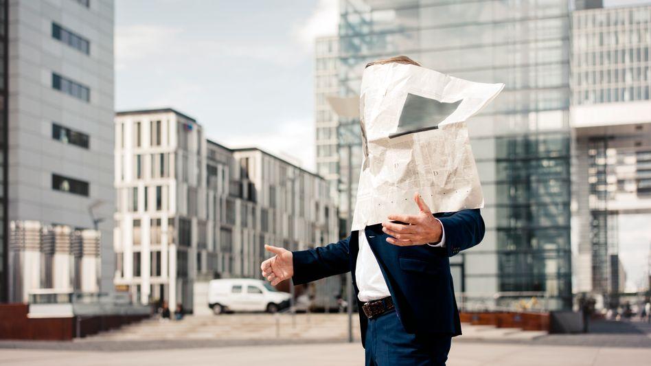 Wahrnehmungseingeschränkter Medienkonsument (Symbolbild)