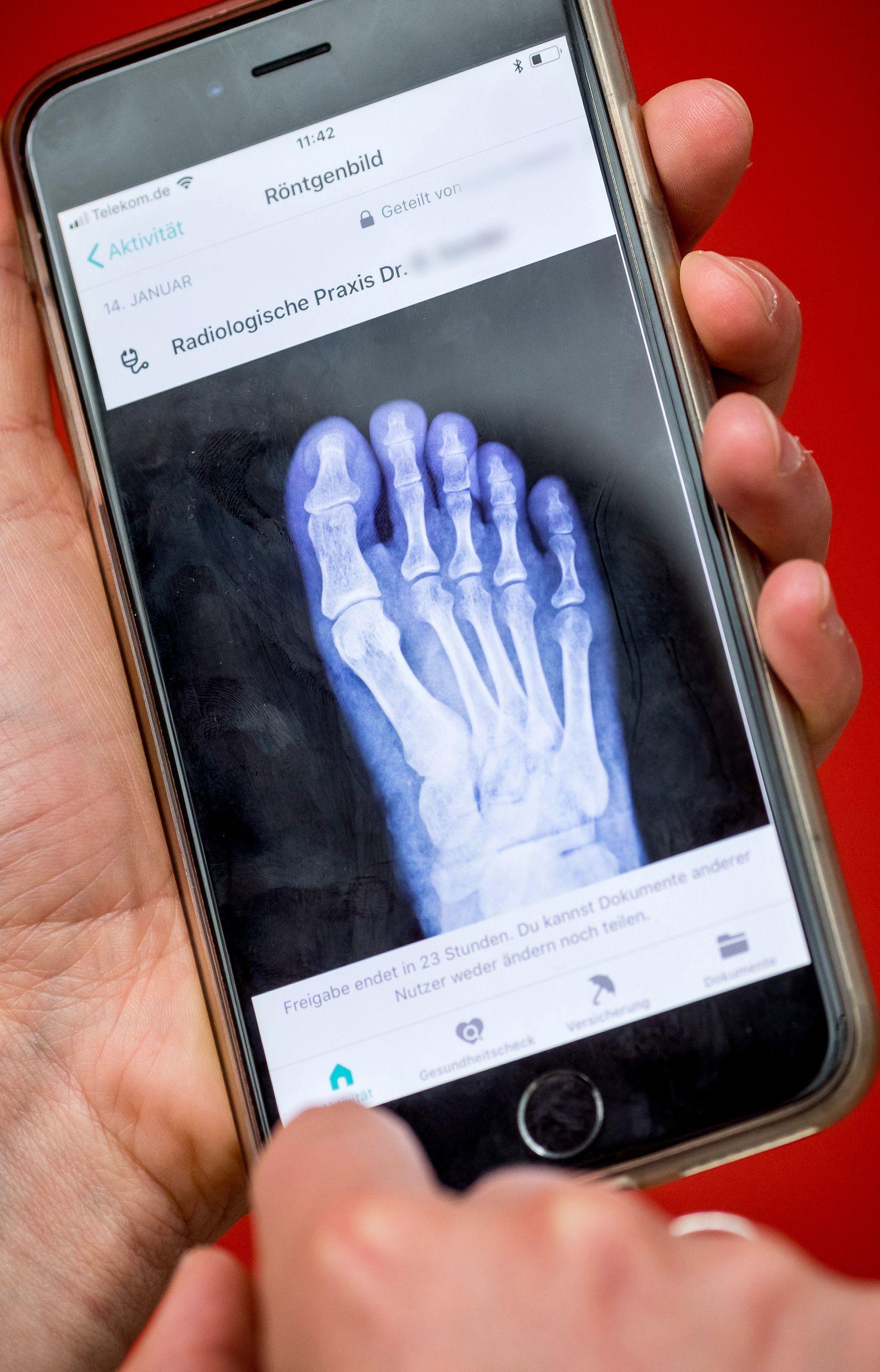 EINMALIGE VERWENDUNG Vivy-Android App/ Gesundheit/ Digitale Gesundheitsakte