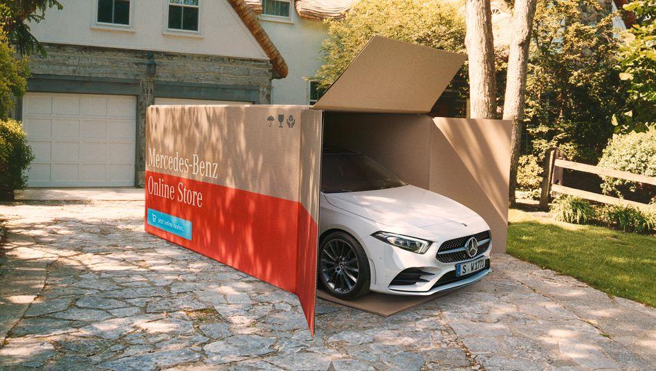 Mercedes und andere Autohersteller liefern im Internet bestellte Neuwagen jetzt auf Wunsch frei Haus