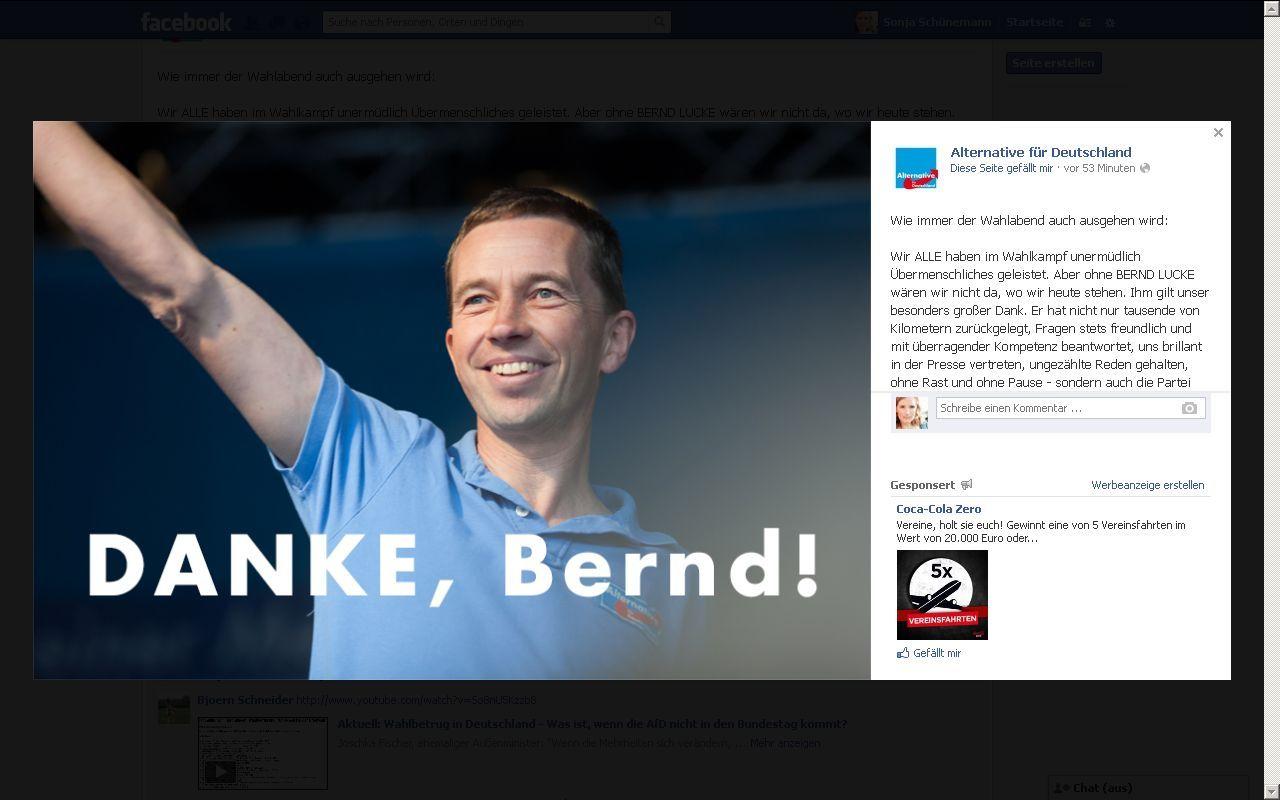 EINMALIGE VERWENDUNG NUR ALS ZITAT Screenshot Mensch-Maschine / Danke Bernd