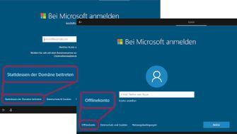 Windows 10 ohne Microsoft-Konto - so gehts