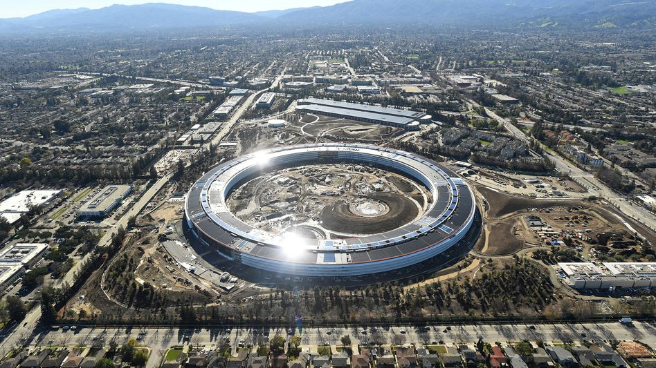 Apple Campus im Silicon Valley