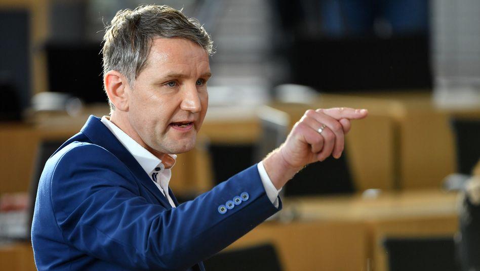 AfD-Landeschef Höcke: Geldsegen vom Baulöwen