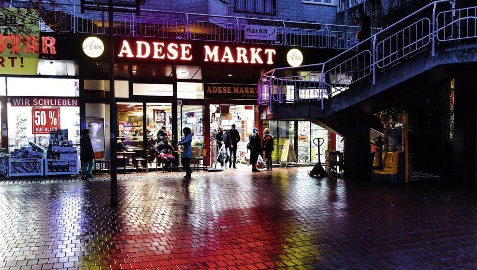 Discountermarkt in Hamburg-Harburg