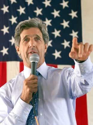 John Kerry: Faltige Stirn als aristokratisches Markenzeichen