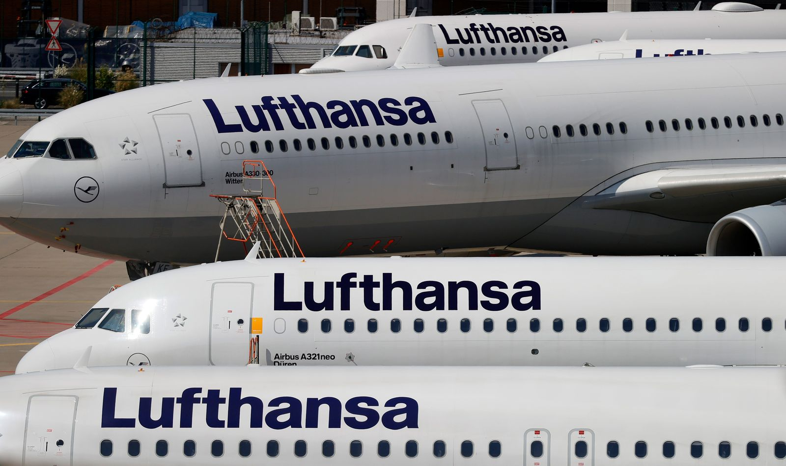 Lufthansa results, Frankfurt Am Main, Germany - 25 Jun 2020