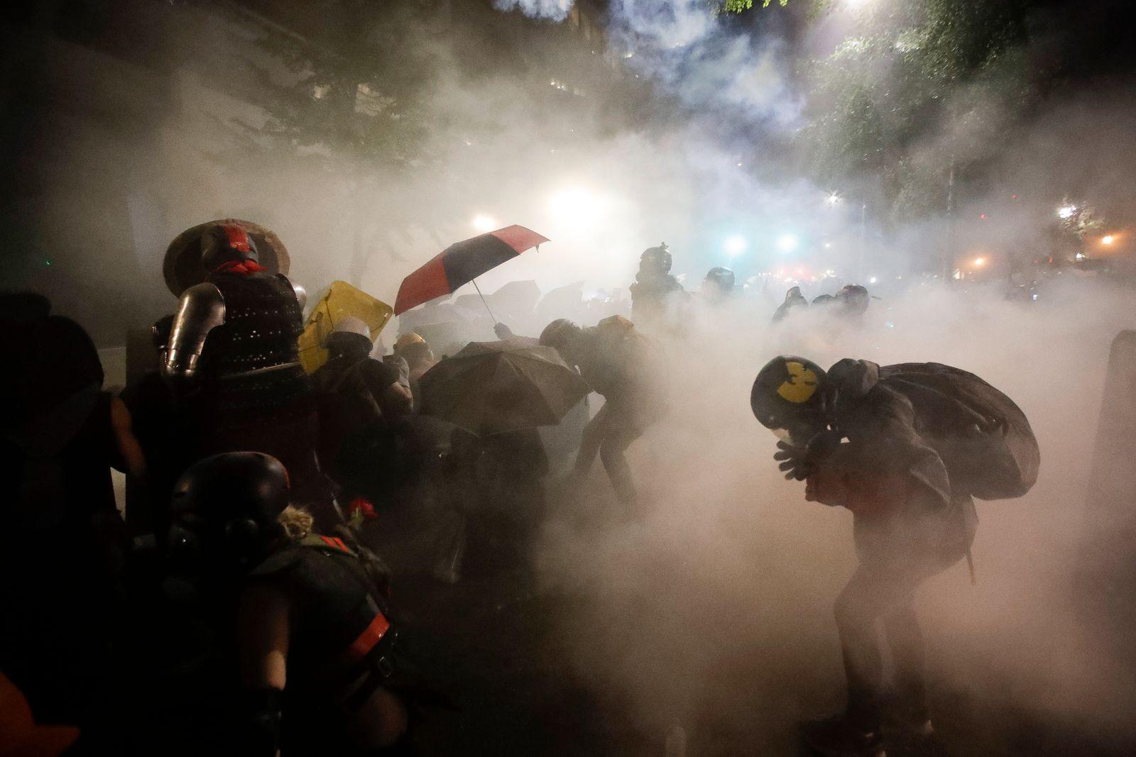 Proteste gegen Rassismus - Portland
