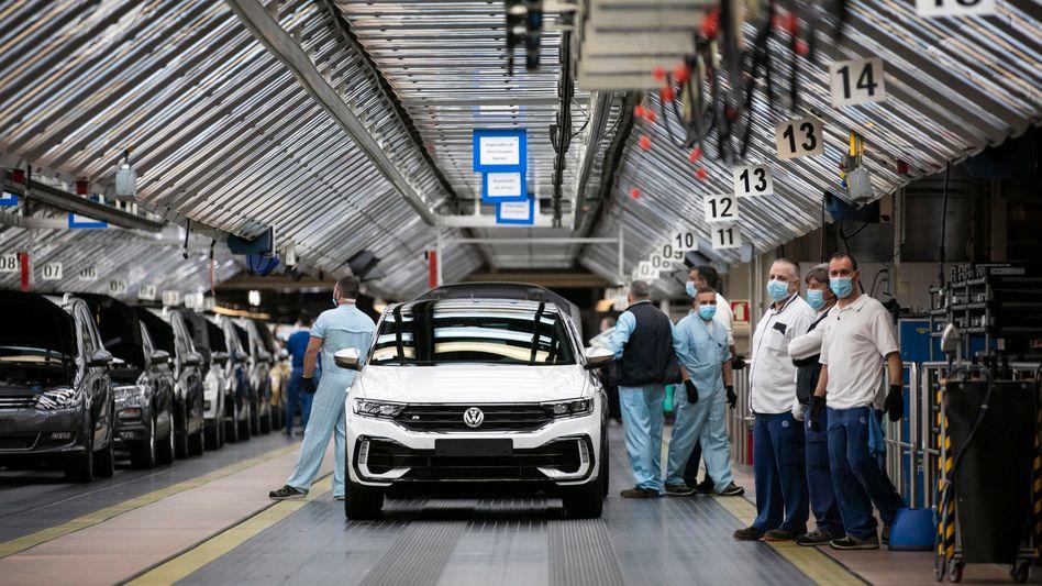 VW-Werk in Portugal (Archivbild)