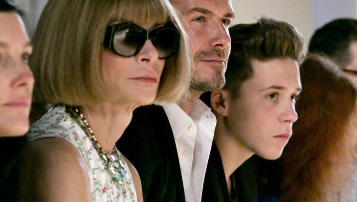 """Victoria Beckham auf Fashion Week: """"Es ist ein Familienbusiness"""""""