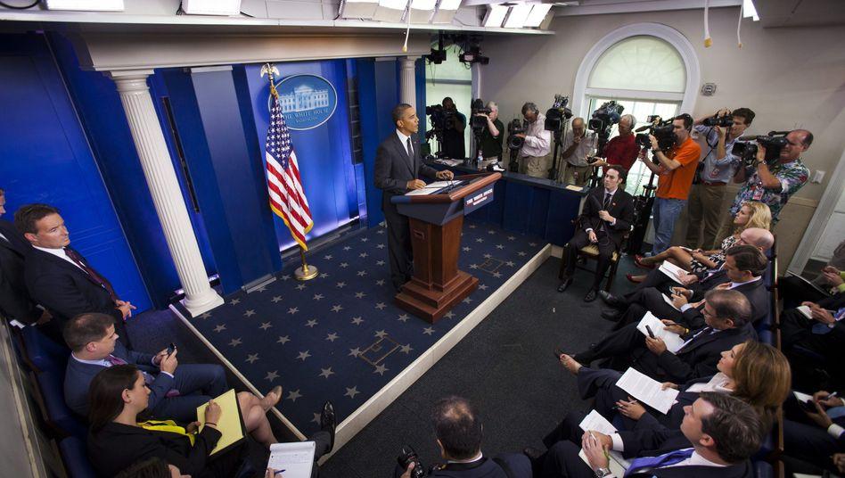 Pressekonferenz im Weißen Haus: Harte Kritik von Reporter ohne Grenzen