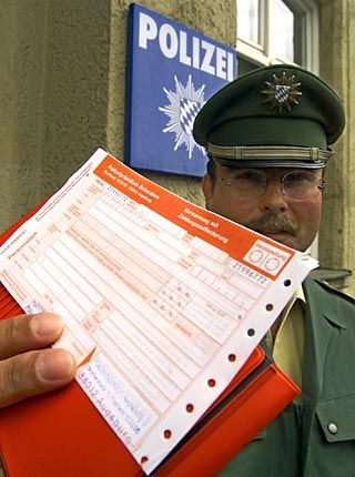 Got diplomatic immunity? Then this parking ticket isn't worth the paper it's printed on.