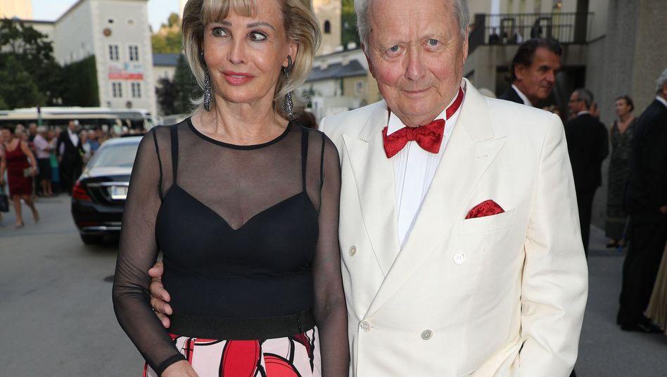 Wolfgang Porsche mit Partnerin Claudia Hübner