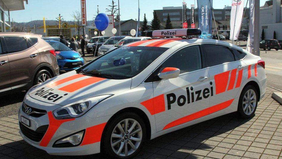 Falsches Polizeiauto: Verbrechensbekämpfung nach dem Prinzip Vogelscheuche