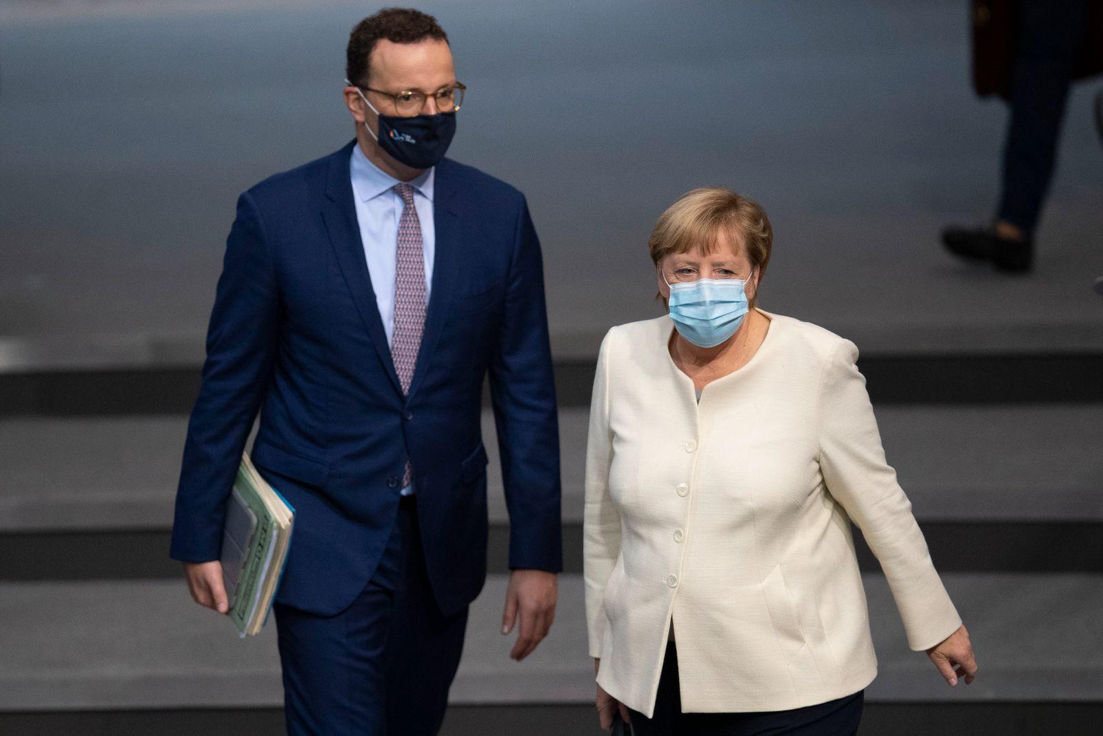 Bundestag Begins 2021 Federal Budget Debates During The Coronavirus Pandemic