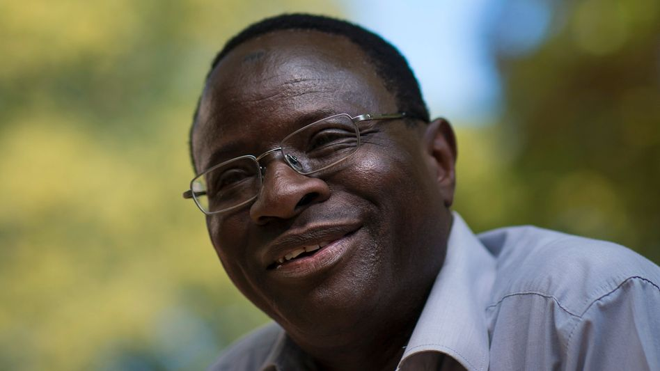 Halle constituency candidate of the Social Democratic Party (SPD) Karamba Diaby in September.