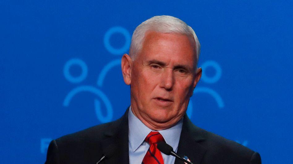 Der ehemalige US-Vizepräsident Mike Pence