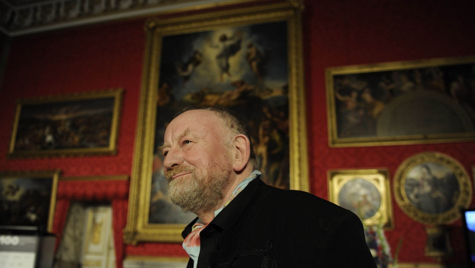 Danish cartoonist Kurt Westergaard was honored on Wednesday evening in Potsdam.