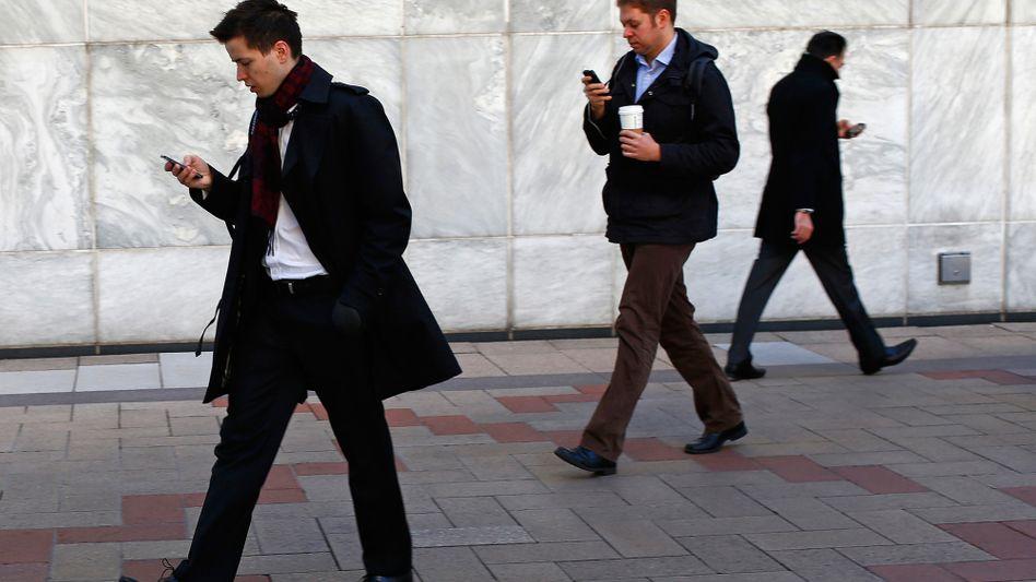 Handy-Nutzer: Vorsicht bei mobilen Bankgeschäften