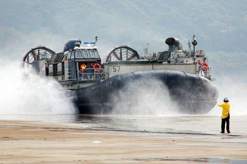 Luftkissenboot der US-Navy: Zu hoher Energieverbrauch