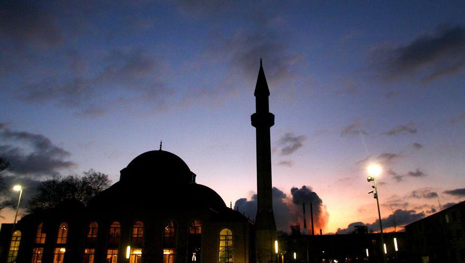 Ditib--Moschee in Duisburg-Marxloh