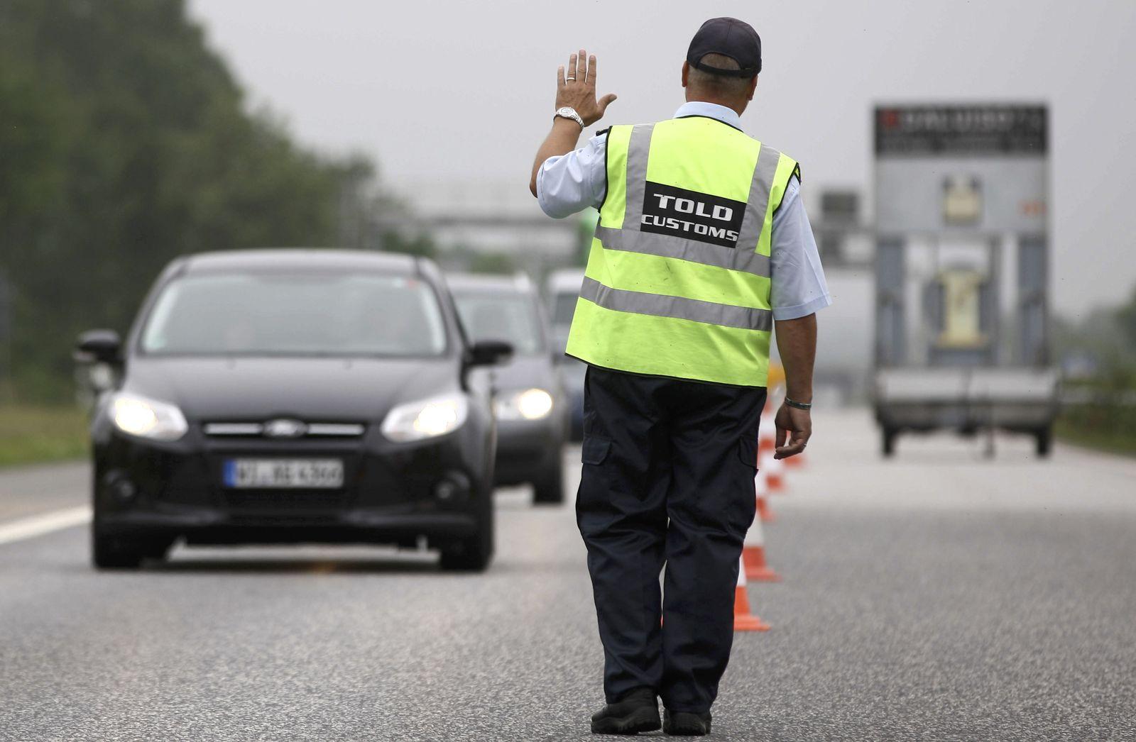 NICHT VERWENDEN Grenzkontrollen / Dänemark