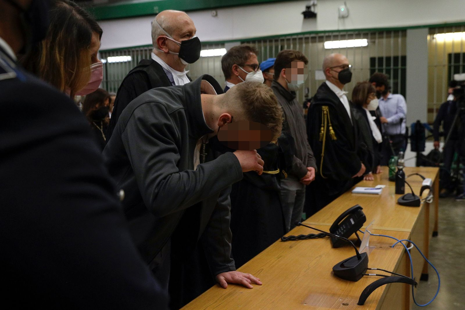 APTOPIX Italy Police Slaying Trial